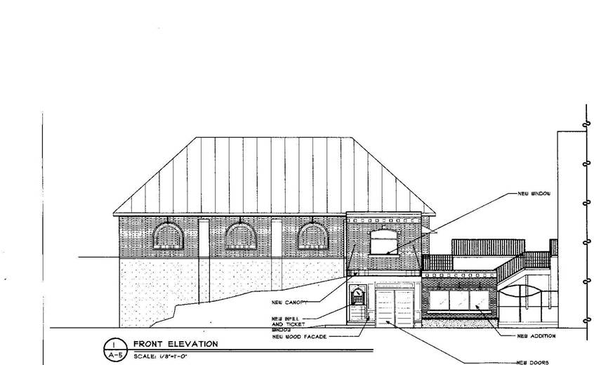 Front Elevation Theatre : Front elevation theater coloring pages